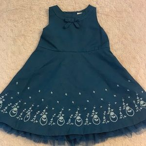 Janie and Jack embroidered dress 6-12 months